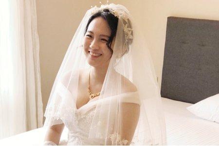 嵐Wing Makeup<噴槍底妝>-結婚現場