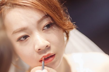 嵐Wing Makeup<噴槍底妝>-白紗現場