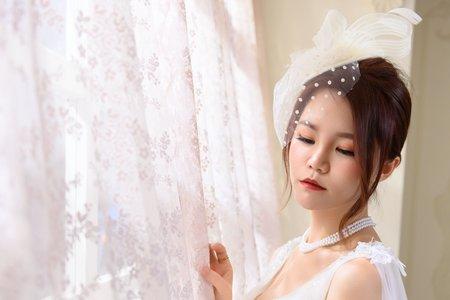 嵐Wing Makeup<噴槍底妝>-復古帽紗