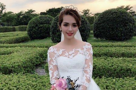 嵐Wing Makeup<噴槍底妝>-王妃風範