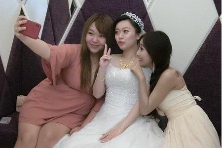 嵐Wing Makeup<噴槍底妝>婚禮現場