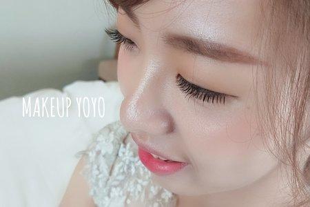 新秘yoyo-雲林/嘉義/彰化/台中/苗栗/台南/高雄/屏東