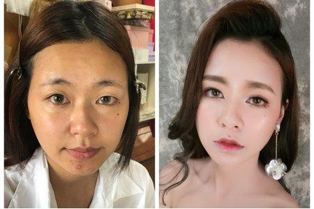 韓式光澤肌妝容