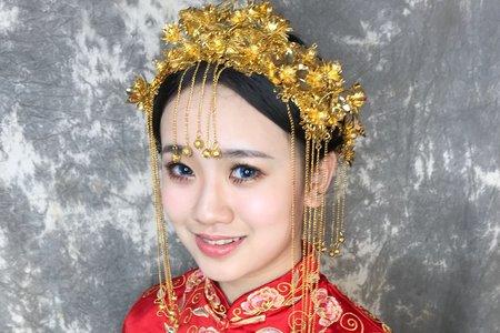 中式新娘古典造型