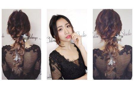 日系浪漫髮型