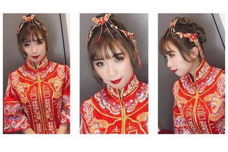 「婚禮造型紀錄」-中國風送客