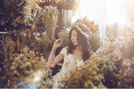乾燥花棚拍