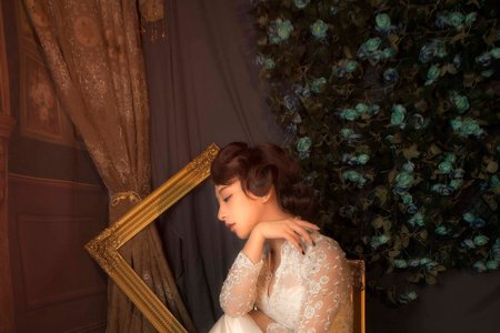 微光復古婚紗