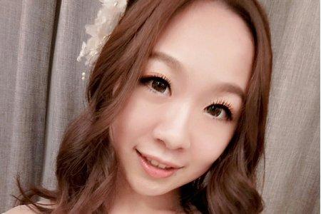 黎兒新娘秘書 噴槍彩妝 - 韓風妝感精緻眼妝