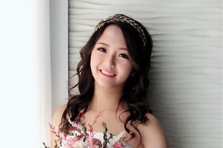 黎兒新娘秘書 噴槍彩妝-內雙眼型調整、精緻眼妝白紗造型
