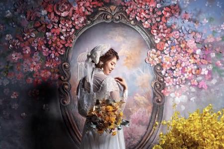 黎兒新娘秘書 噴槍底妝 - 訂製捧花 手工不凋花髮飾 手腕花 胸花