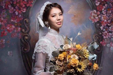 精緻手作新娘捧花、胸花、手腕花、花禮