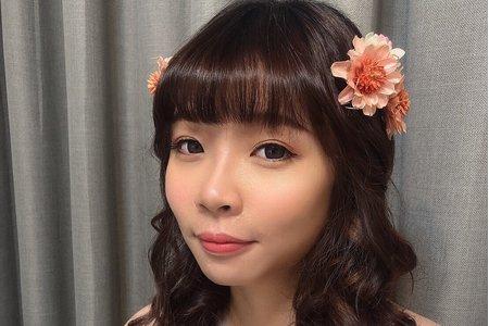 黎兒新娘秘書 噴槍底妝 - 花兒仙女造型