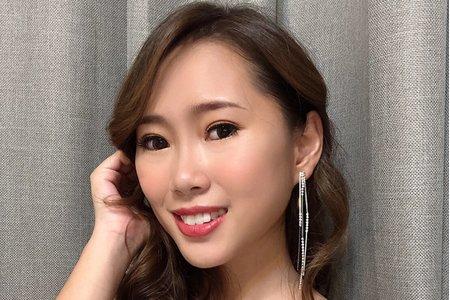 黎兒新娘秘書 噴槍底妝 - 時尚歐美妝感