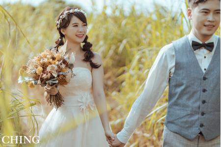 黎兒噴槍底妝 - 甜美可愛婚紗造型 精緻眼妝