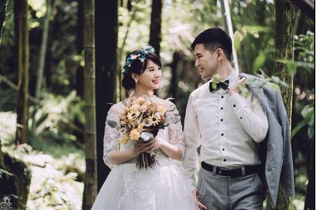 黎兒新娘秘書 噴槍底妝 - 森林風小仙女造型