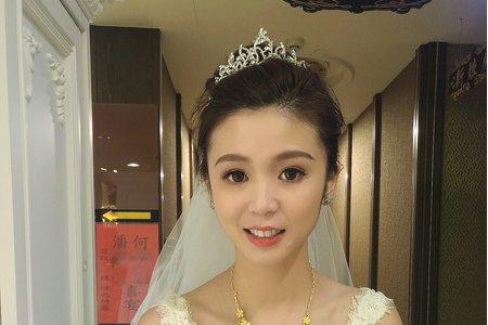 黎兒新娘秘書 噴槍底妝 - 宴客現場 結婚晚宴