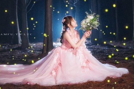 黎兒新娘秘書 噴槍底妝 - 夢幻仙女造型