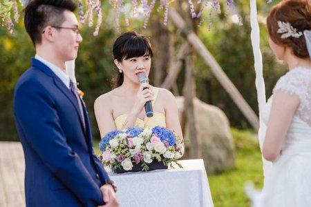 證婚儀式🎤Debbie