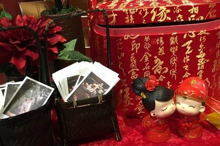 嘉義婚禮主持人+中國風婚禮佈置+川劇變臉+魔術表演@嘉義大林金山樓