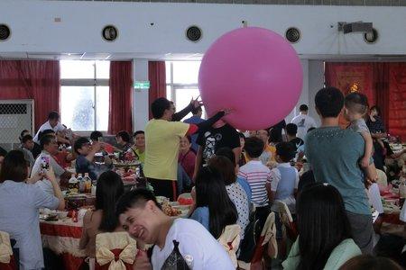 嘉義婚禮主持人+魔術氣球表演+人入大氣球表演