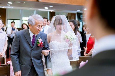 { 一尾 WEDDING }  教會證婚(德生教會) / 婚禮紀實 / Wedding