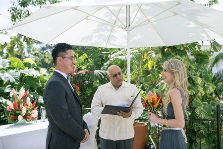 { 一尾 WEDDING } 海外婚禮 Jay&Anna / 貝里斯Belize / 證婚