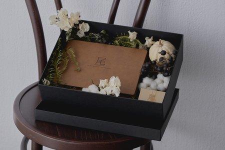 皮革相書花盒