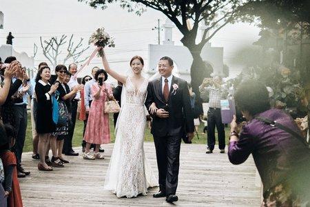 小希臘莊園-美式婚禮 / 戶外證婚 / 婚禮紀實