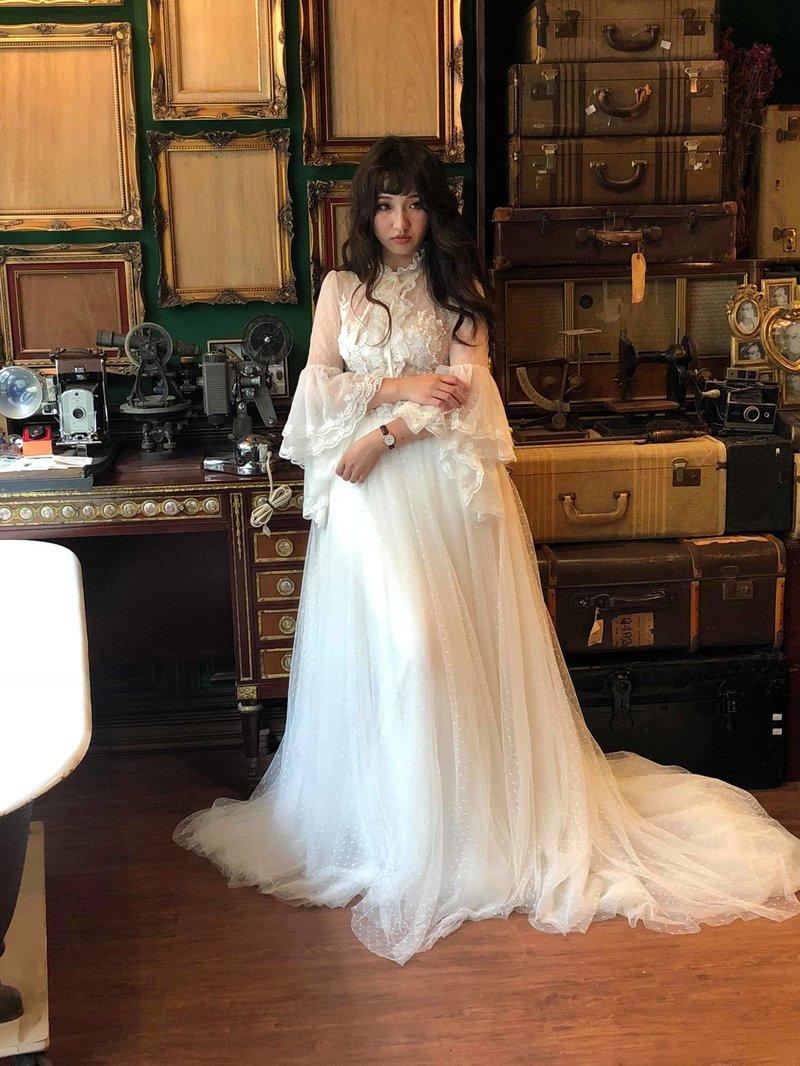 婚紗造型作品