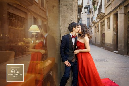 西班牙巴塞隆納婚紗攝影