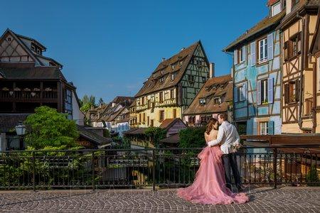法國亞爾薩斯海外婚紗攝影