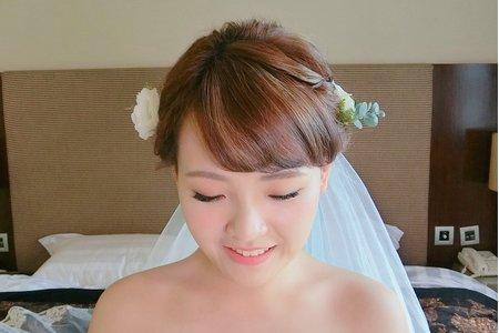 Ellen wang stylist 婚禮造型