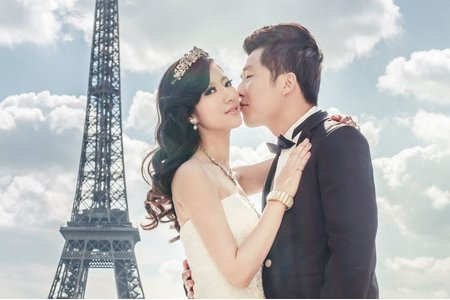 Ellen wang stylist 海外婚紗造型