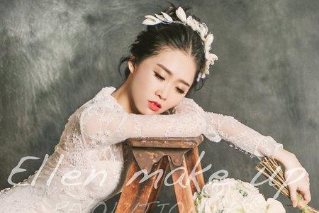 台中新秘瑋綸Ellen-韓風高盤髮
