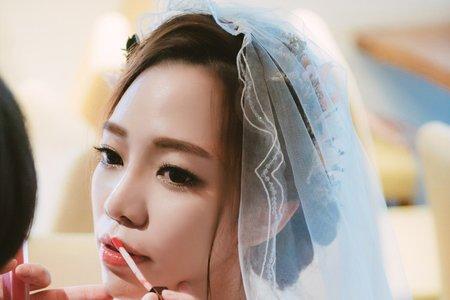 台中新秘瑋綸Ellen-陽明山納美花園婚禮造型