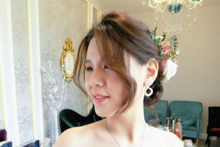 台中新秘瑋綸Ellen- 婚禮造型