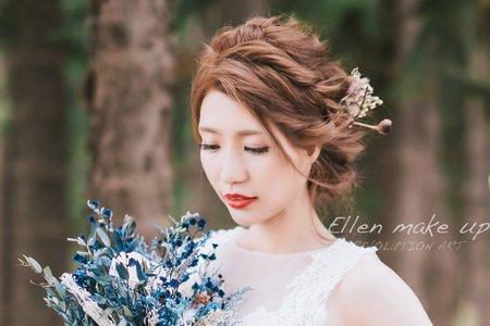 台中新秘瑋綸Ellen -婚紗造型