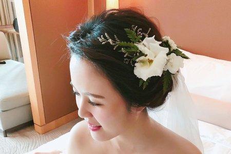 台中新秘瑋綸Ellen -葳格婚宴會館婚禮造型