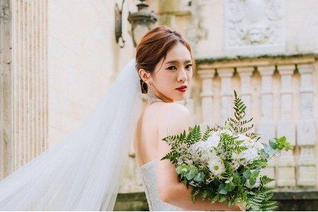 台中新秘瑋綸Ellen- Ellen婚紗造型