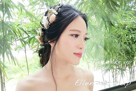 台中新秘瑋綸Ellen-婚禮造型
