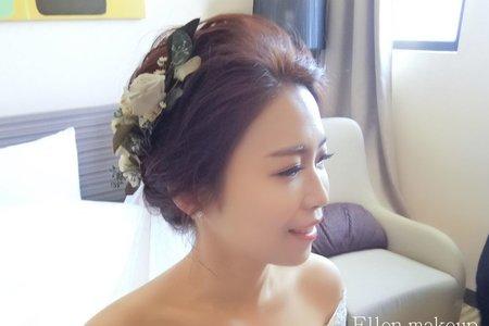 台中新秘瑋綸Ellen~婚禮造型
