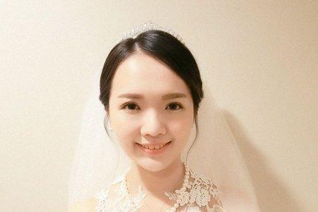 台中新秘瑋綸Ellen-劍湖山王子大飯店婚禮造型