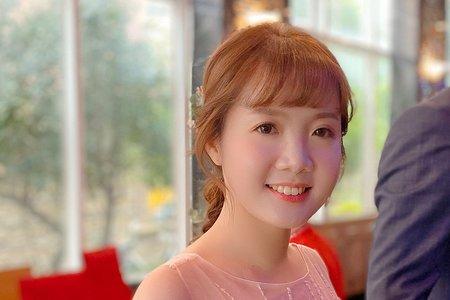 台中新秘瑋綸Ellen-來福星飯店婚禮造型