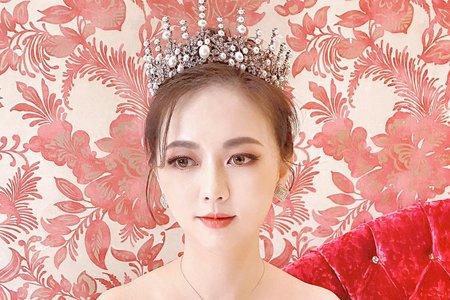 ellen wang stylist潮港城婚禮造型