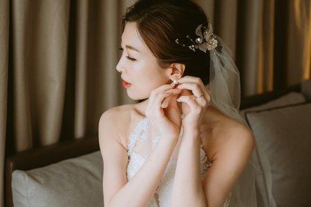 台中新秘瑋綸Ellen-婚禮現場造型