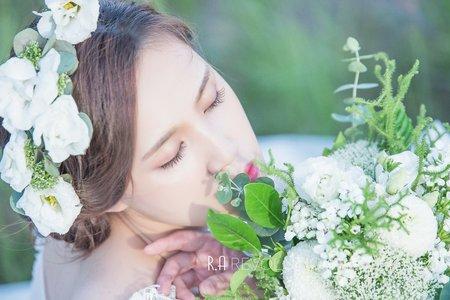 台中新秘瑋綸Ellen -手作花飾造型