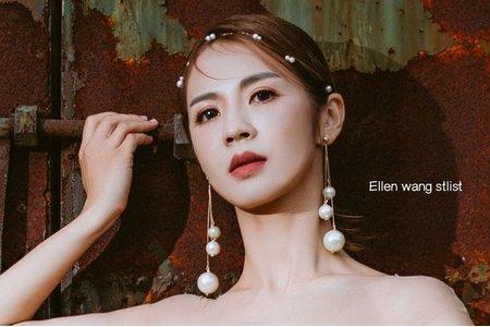 台中新秘瑋綸Ellen -簡約風造型