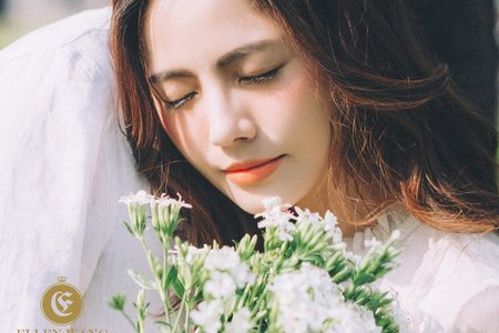 台中新秘瑋綸Ellen -文青風婚紗造型