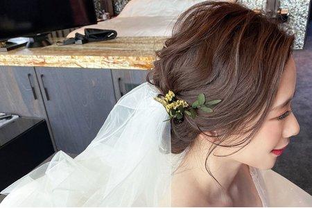 ellen wang stylist婚禮造型-林酒店